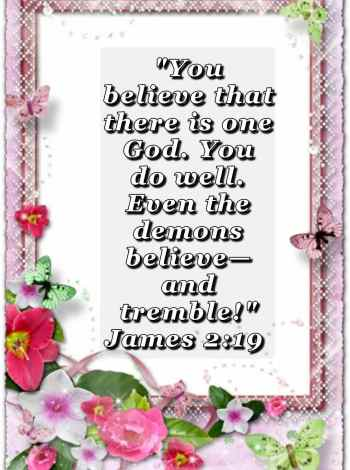 bible varses wallpaper faith (James 2:19)