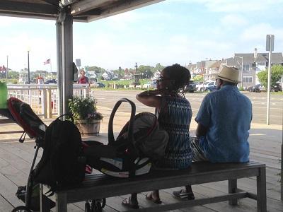 Oaks Bluff ferry station