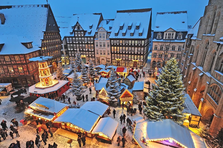 Die schönsten Weihnachtsmärkte in Niedersachsen: Hildesheim