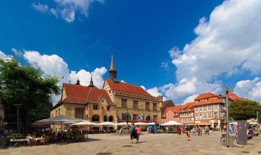Sommertag in Göttingen
