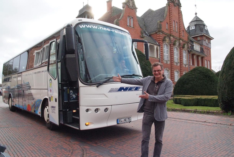 Herzlich Willkommen zur Lachbustour in Papenburg