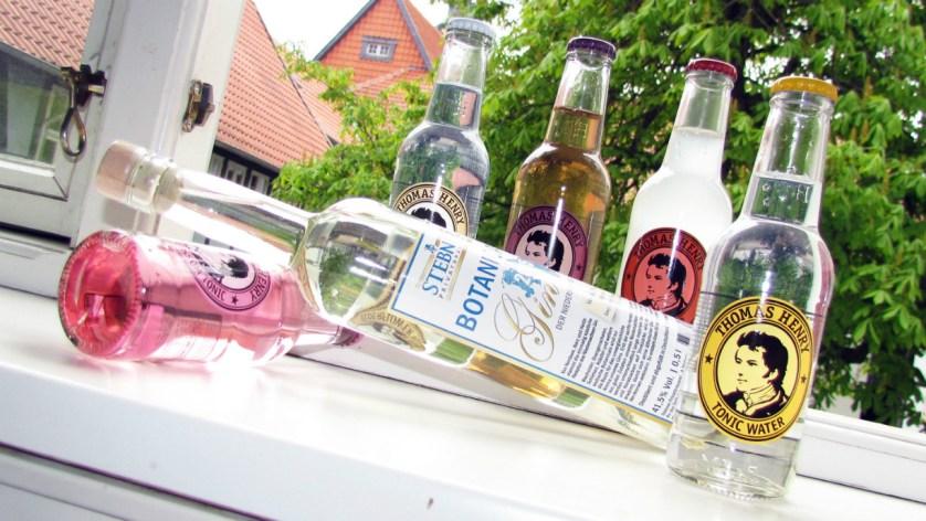 Der Niedersachsen-Gin passt gut den Tonics von Thomas Henry (Foto: Björn Reckewell)