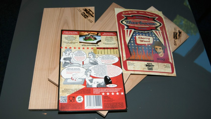 Die Planks für mein nächstes Grillfest (Foto: Björn Reckewell)