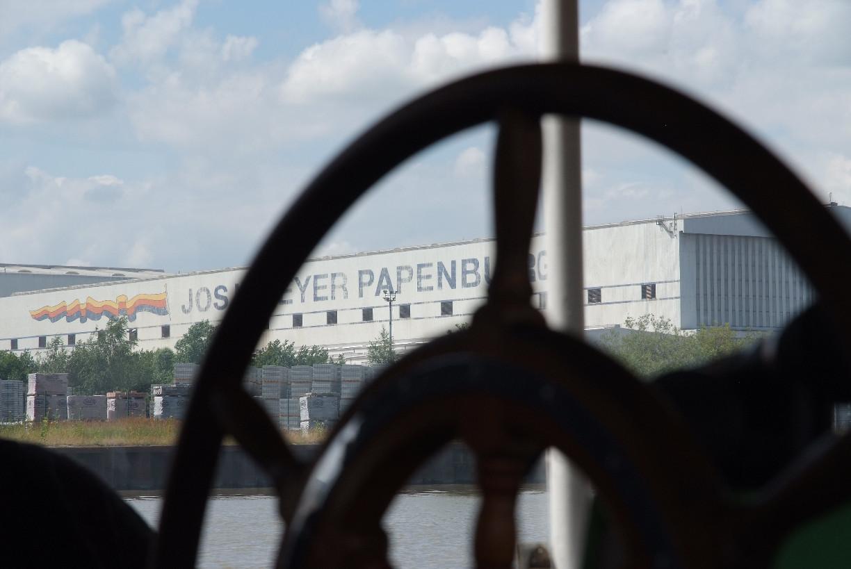 Die Hallen Der Meyer Werft
