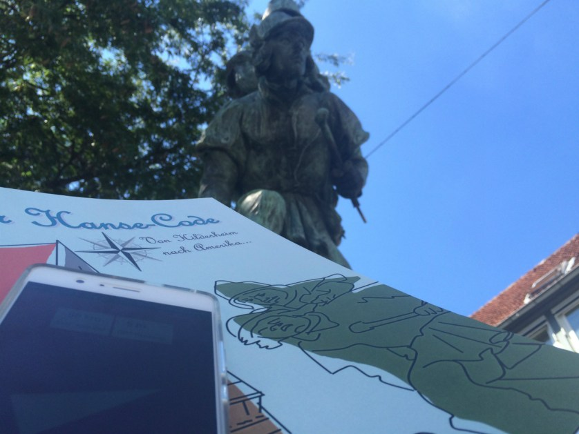 In Hildesheim können Sehenswürdigkeiten bei einer Schnitzeljagd entdeckt werden