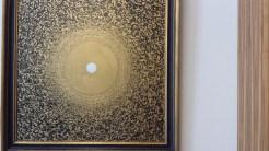 """Bilder aus Buchstaben: """"Das Leben ist Bewegung und die Bewegung ist das Leben."""", Shahid Alam, 2016 (c) B.Neuhaus"""