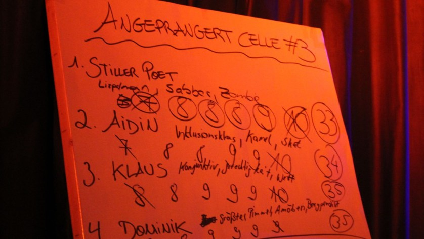 8 Slamer stellen sich dem Celler Publikum