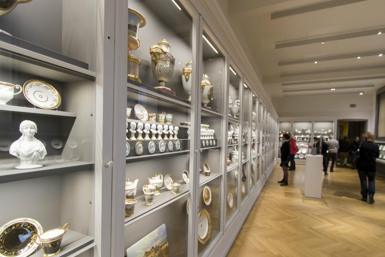 """Der Ausstellungsraum """"Porzellan und Keramik"""". Foto: Braunschweig Stadtmarketing GmbH"""