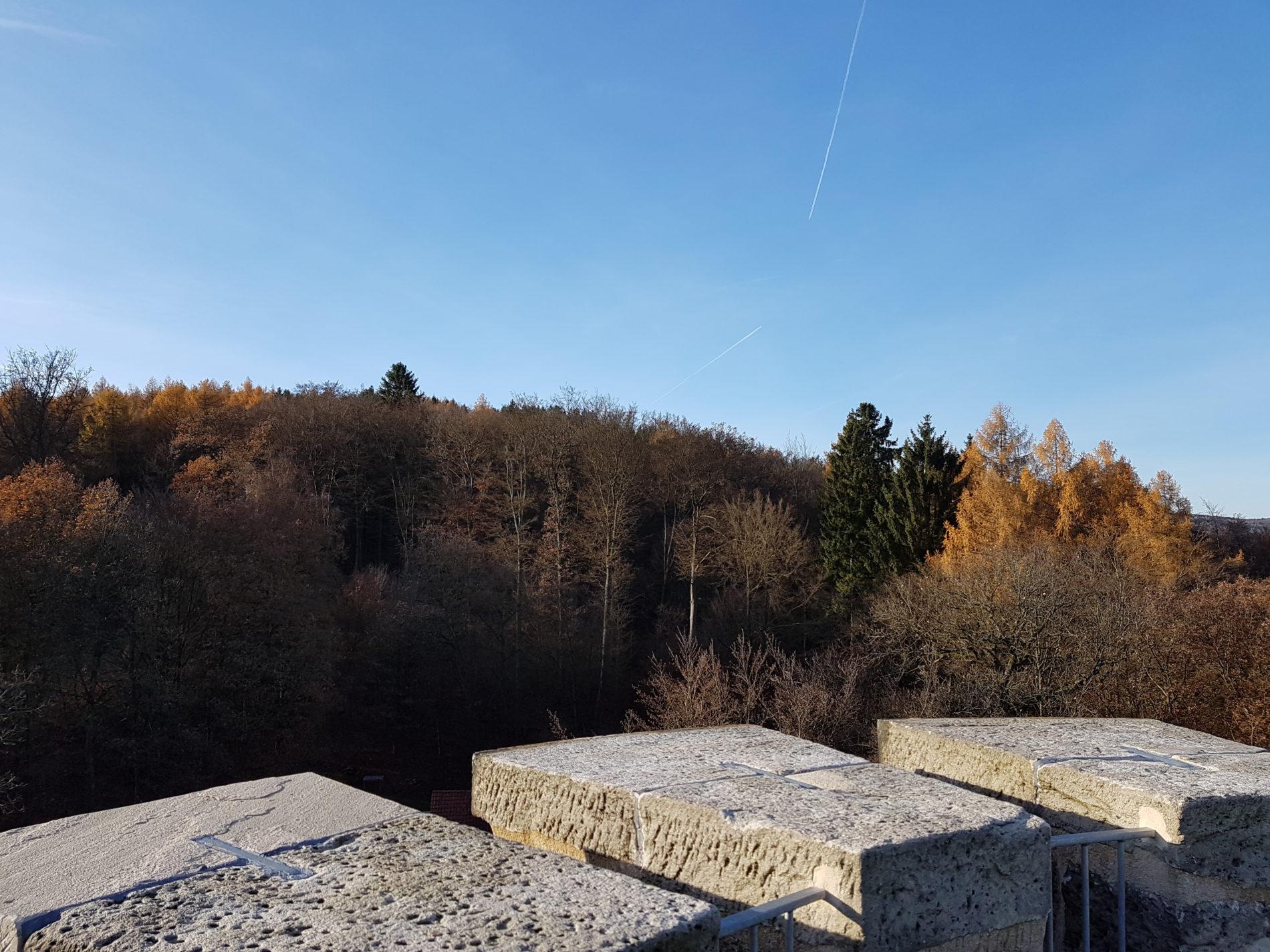 Blick auf den Reinhardswald