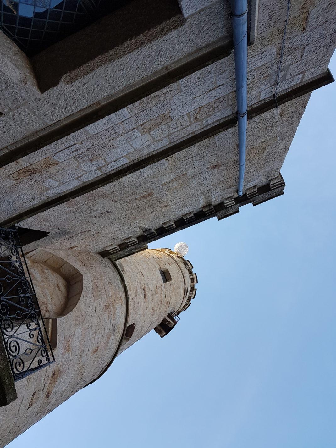 Ein letzter Blick auf den über 100 Jahre alten Tillyschanzenturm