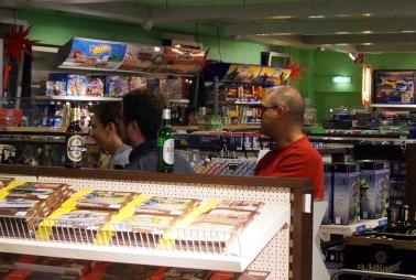 Beim Männerabend im Spielzeugladen Schütte in Gifhorn