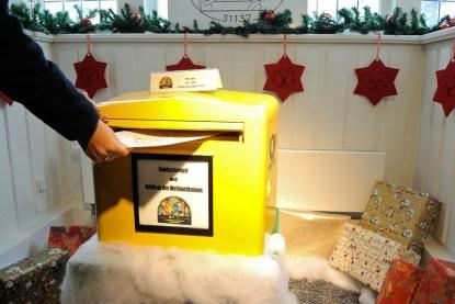 Meine Post an den Weihnachtsmann.
