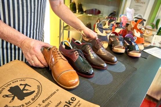 Handgemachte Schuhe aus Wolfenbüttel