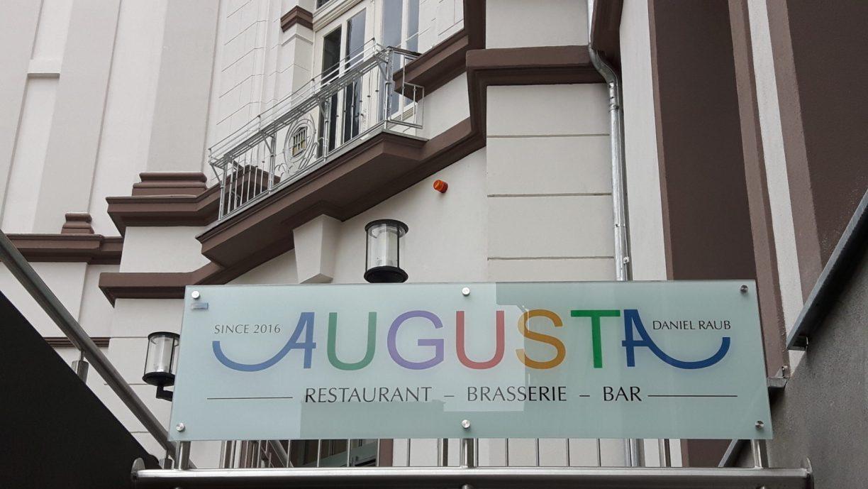Der Eingangsbereich zum neuen Restuarant Augusta in Göttingen