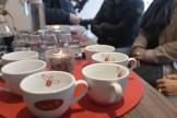 Für jeden Kaffee eine Tasse, fast wie bei einer Weinprobe / Foto: Björn Reckewell