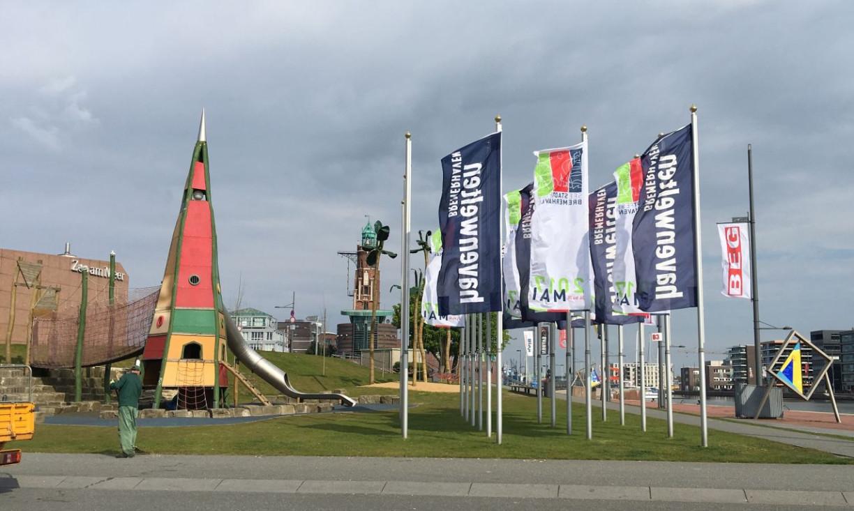 Flaggen Leuchtturm