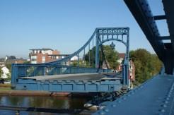 Ein toller Anblick, wenn die Brücke sich aufdreht! © Barbara