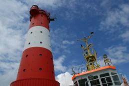 Der Leuchtturm Arngast gehört zu den bekanntesten und traditionellsten Leuchttürmen an der deutschen Nordseeküste © Barbara
