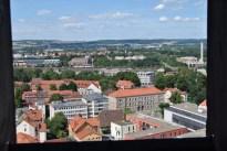 Blick vom Jacobikirchturm über Göttingen nach Westen (c) Michaela