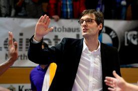 Immer bei den Spielen dabei - Geschäftsführer Frank Meinertshagen