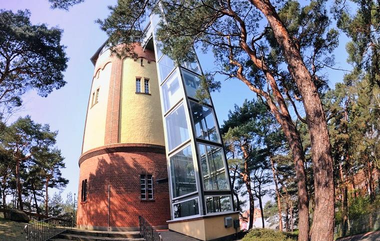 Außenansicht des Gifhorner Wasserturms