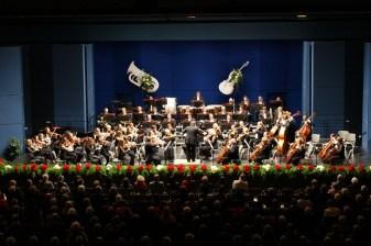 Jedes Jahr finden in der Stadthalle Sinfoniekonzerte statt © Barbara