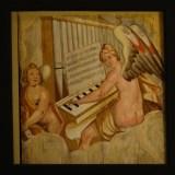 Diese Bilder, die heute unter der Orgel hängen, waren viele Jahre verschollen.
