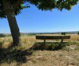 Das könnte die Picknickbank sein…