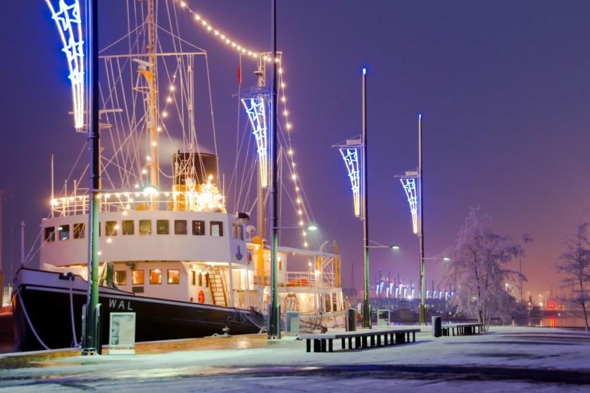Schnee in Breerhaven
