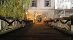 Brücke zum Gifhorner Schloss.