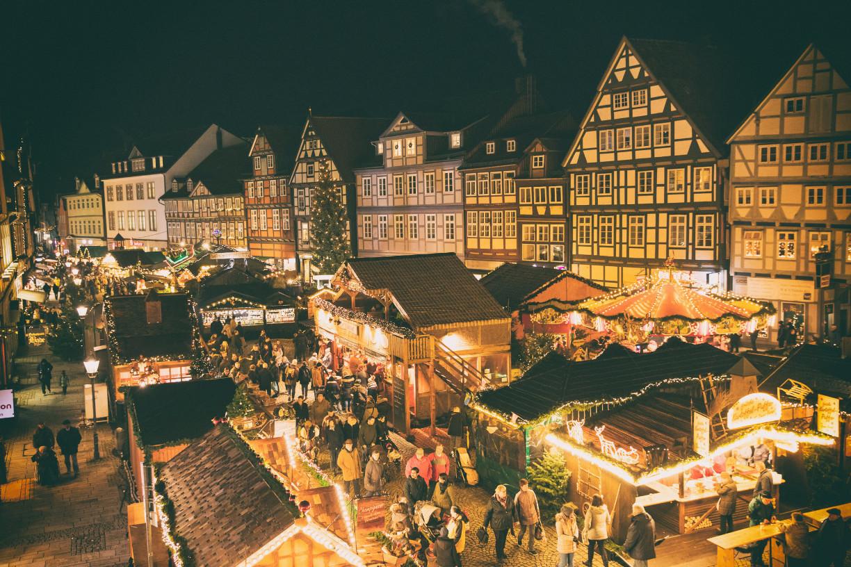 Veranstaltungen in Niedersachsens Städten. Der Celler Weihnachtsmarkt