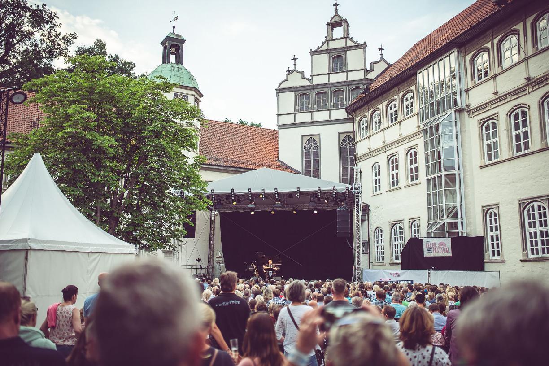 Konzert auf dem Innenhof des Gifhorner Schlosses