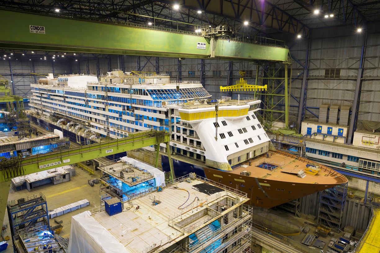 """Die """"Spirit of Discovery"""" ist 236 Meter lang und 31,2 Meter breit."""
