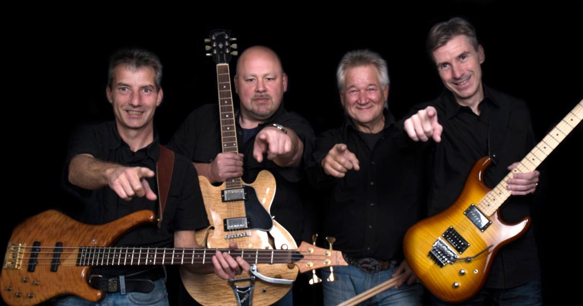 Die Musiker von Rockingham treten in Jan's Quelle auf (c) Rockingham