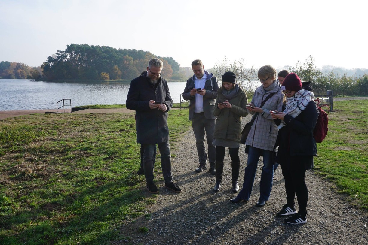 aboutcities Instawalk am Schlossee in Gifhorn