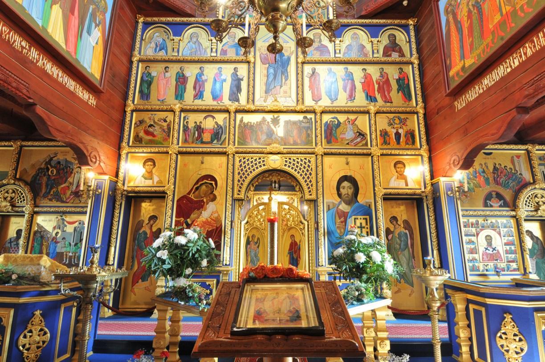 Altar der Russisch-Orthodoxen Kirche