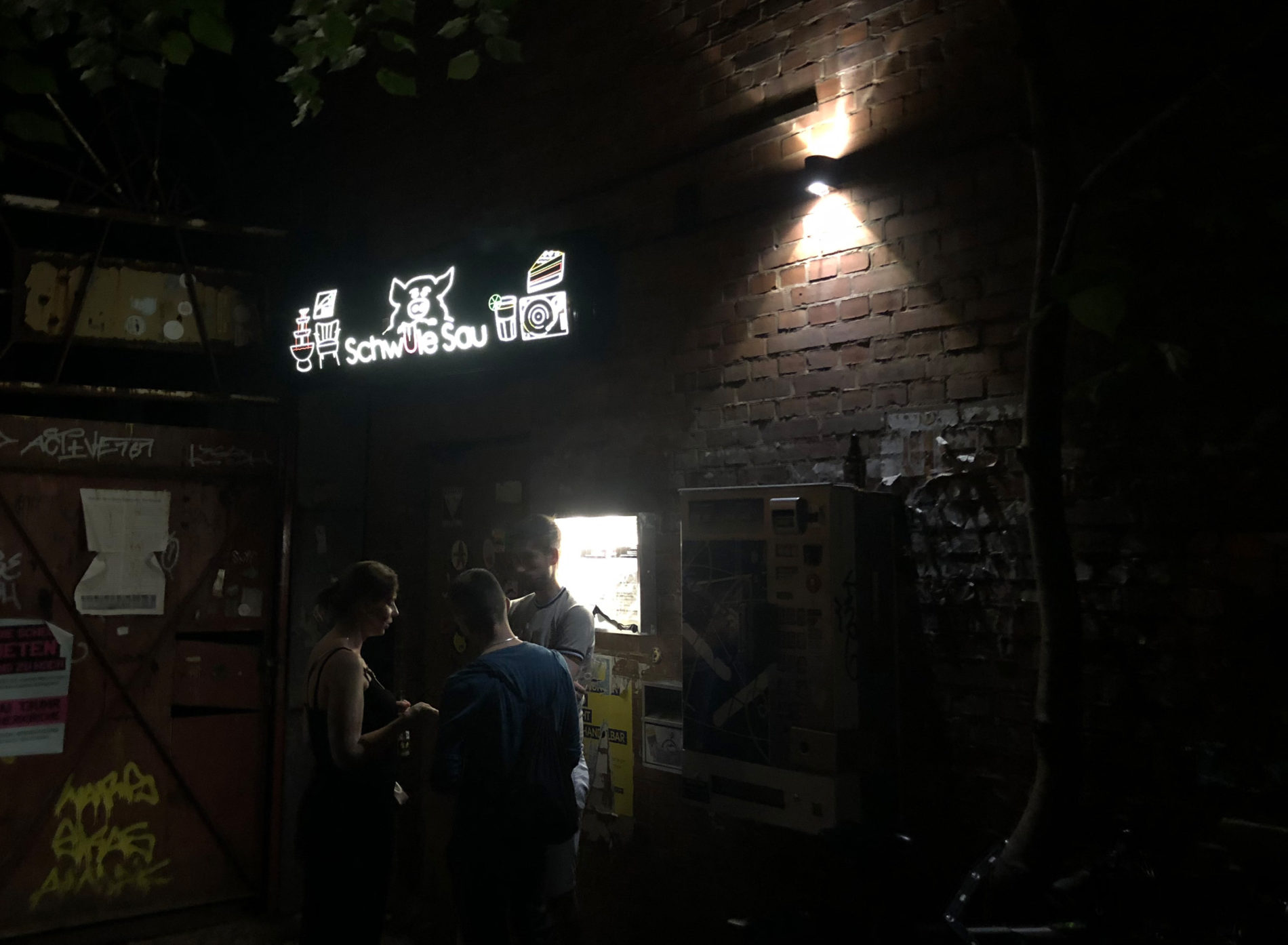Eingang der Schwulen Sau in der Nordstadt