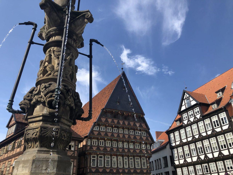 Historischer Marktplatz in Hildesheim