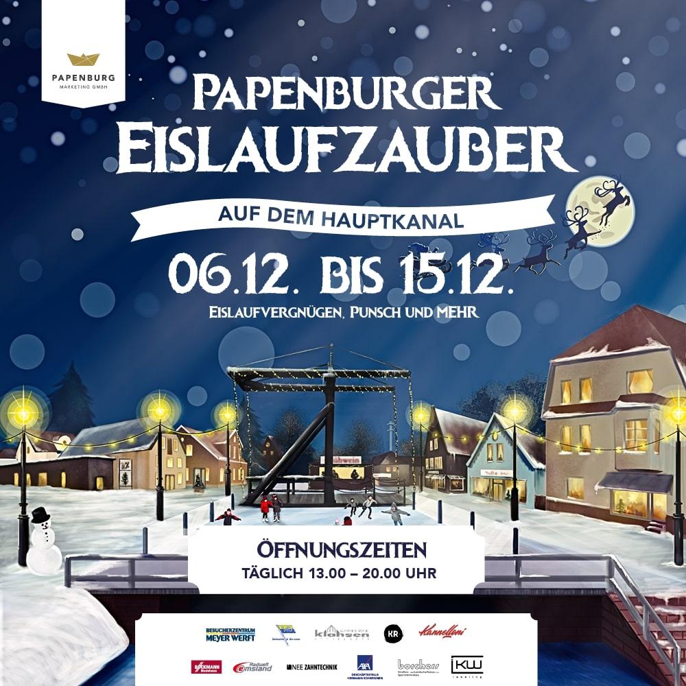 Papenburger Eislaufzauber