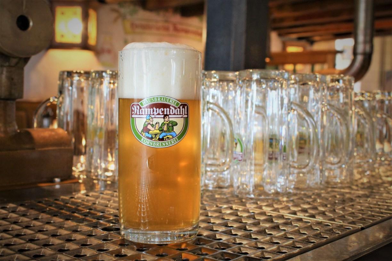 Bier von der Hausbrauerei Rampendahl in Osnabrück