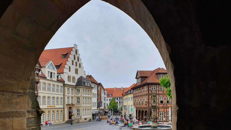 Der historische Marktplatz - eine wichtige Sehenswürdigkeit von Hildesheim