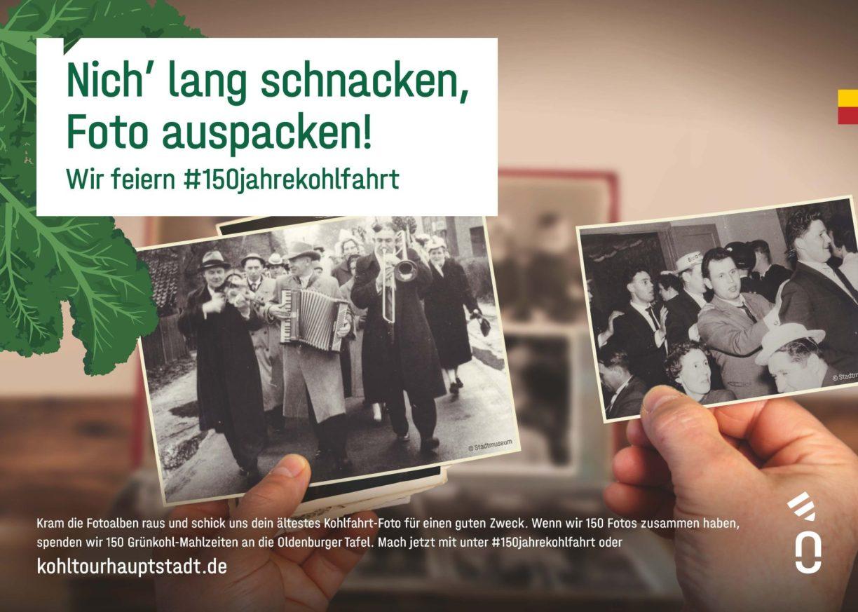 Motiv Instagram-Challenge zum 150. Geburtstag der Kohlfahrt