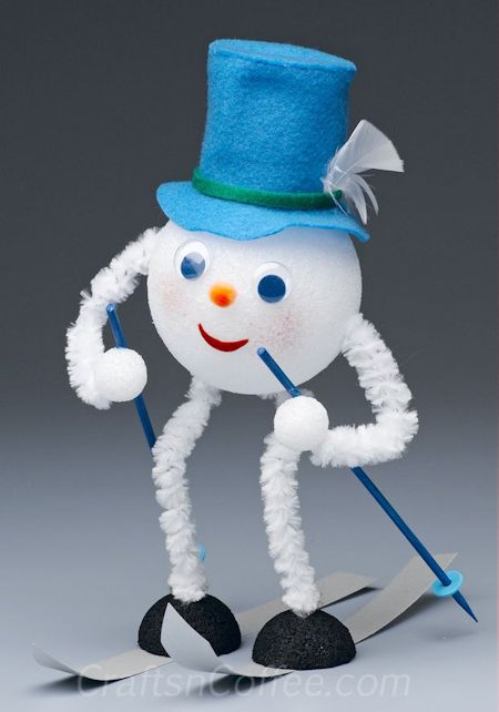 12 Snowman Craft Ideas About Family Crafts