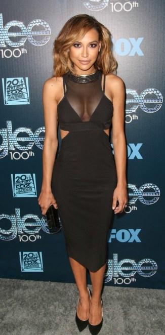 Naya Rivera at 'Glee' 100th Episode Celebration!