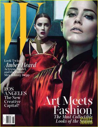 W magazine's JuneJuly 20141