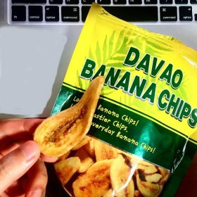 Davao's long-cut banana chips