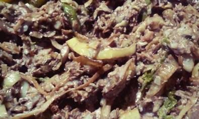 Filipino Food: Ginataang Puso ng Saging