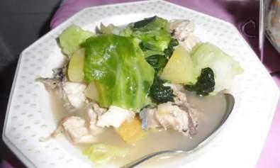 Nilagang Dalag (Boiled Mudfish)