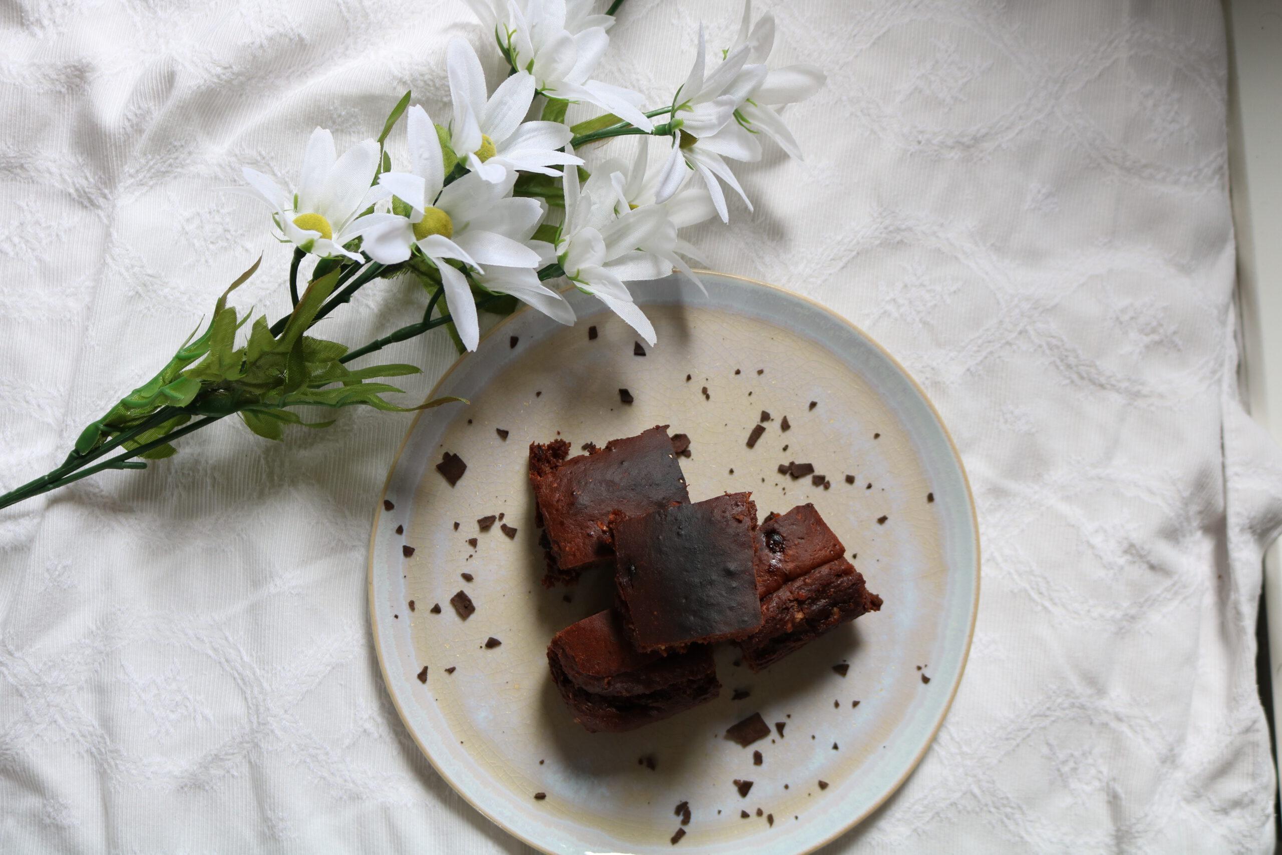 Vanilla Chocolate Brownies