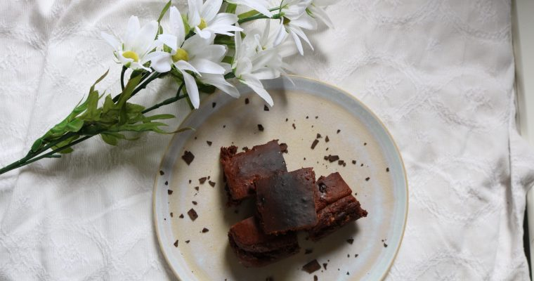 Vanilla Chocolate Brownies